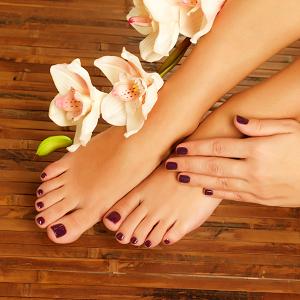 Express Manicure & Pedicure (Basic)