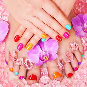 LUX Manicure & Pedicure with Organic Nuskin