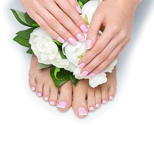 Lavender Manicure & Pedicure
